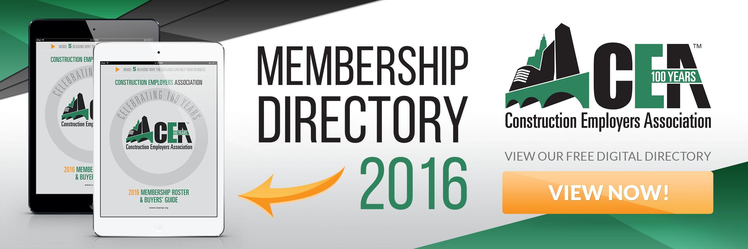 CEA Membership Directory 2016